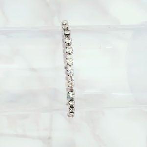 Dainty Bling Silver Tone Bracelet